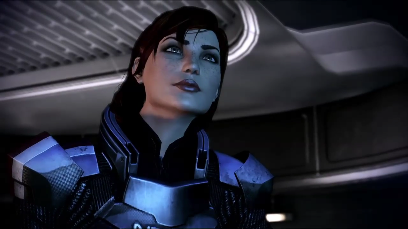 Femshep captured and fucked saren mass effect