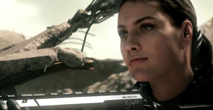 Call of Duty Ghosts Female Soldier